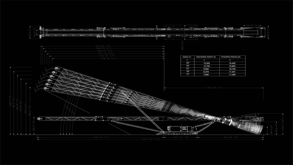 Anaconda a конвейер транспортер с пробегом в спб и области